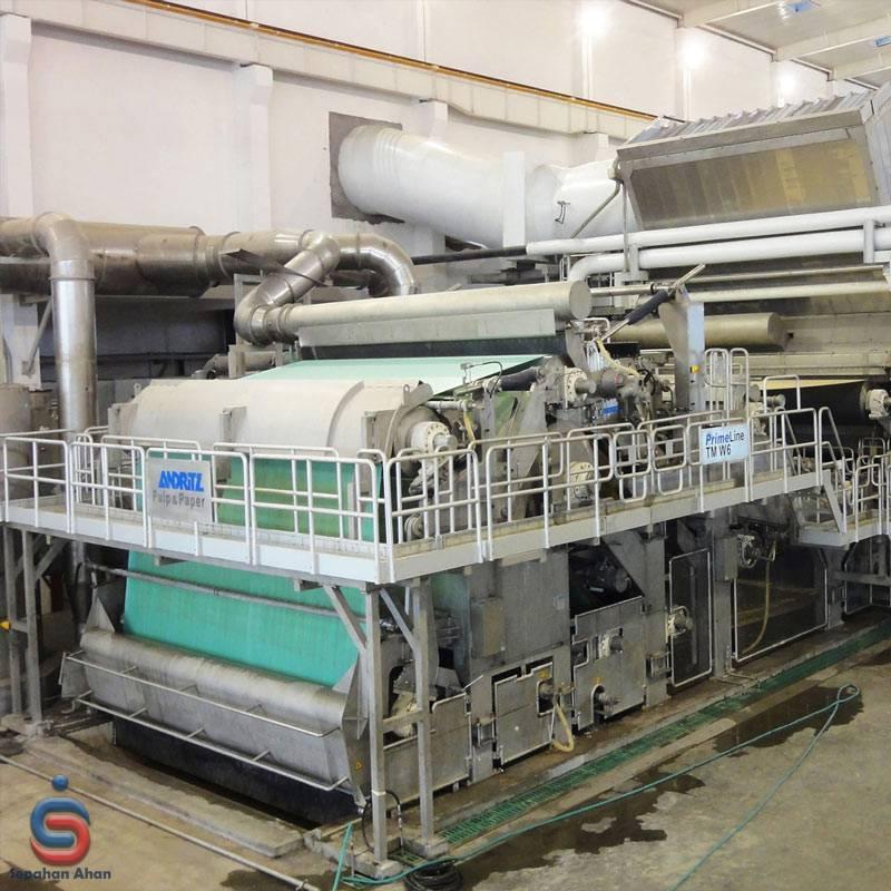 آهن در کارخانه کاغذ سازی در کدام قسمت ها کاربرد دارد